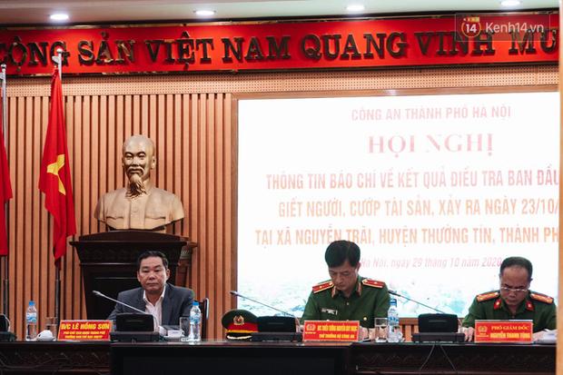 Họp báo vụ nữ sinh HV Ngân hàng bị sát hại: Đối tượng Trung đã cai nghiện về, lưu manh và có nhiều thủ đoạn chống đối - Ảnh 1.