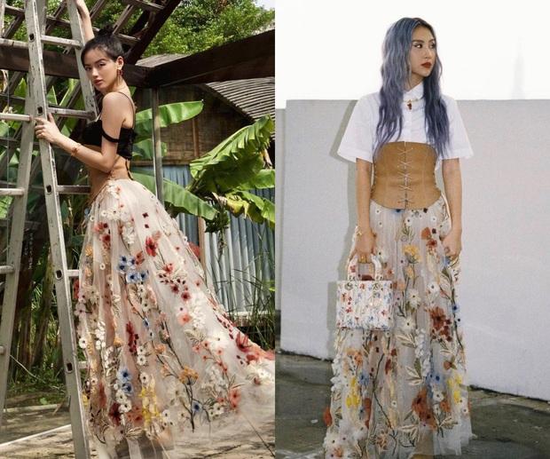 Khánh Linh - Quỳnh Anh Shyn battle nảy lửa khi cùng diện 1 mẫu váy: Mix đồ khác nhau nhưng ai đẹp hơn? - Ảnh 5.