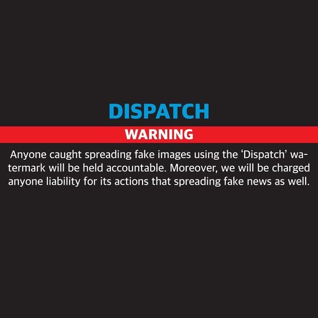 Sau vụ Rosé (BLACKPINK) bị đồn hẹn hò Chanyeol (EXO), Dispatch cảnh báo sẽ kiện người phát tán ảnh - Ảnh 3.