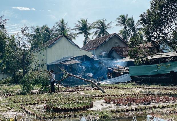 Trường học ở Bình Định tan hoang sau bão số 9, giáo viên vất vả dọn dẹp để chuẩn bị đón học sinh trở lại - Ảnh 7.