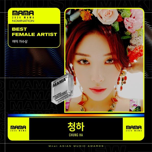 MAMA 2020 công bố đề cử: BTS và BLACKPINK nổi bật trong các hạng mục, hứa hẹn những cuộc chiến vote căng đét - Ảnh 4.