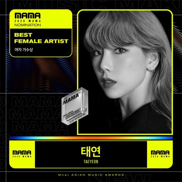 MAMA 2020 công bố đề cử: BTS và BLACKPINK nổi bật trong các hạng mục, hứa hẹn những cuộc chiến vote căng đét - Ảnh 5.