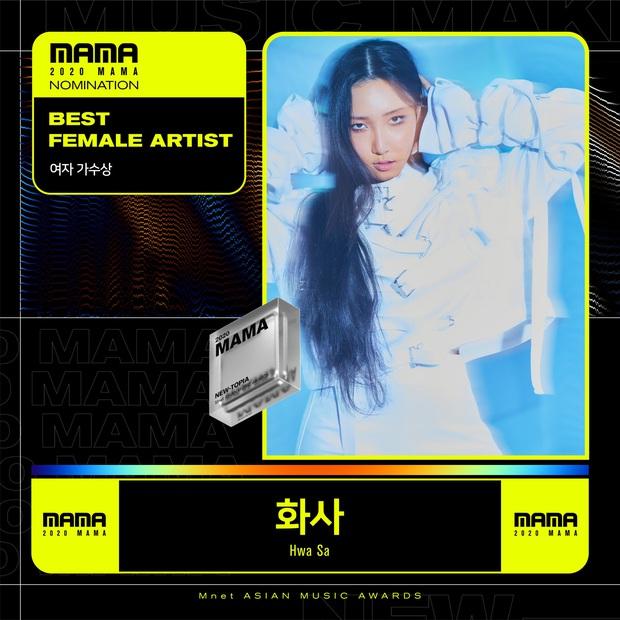 MAMA 2020 công bố đề cử: BTS và BLACKPINK nổi bật trong các hạng mục, hứa hẹn những cuộc chiến vote căng đét - Ảnh 6.
