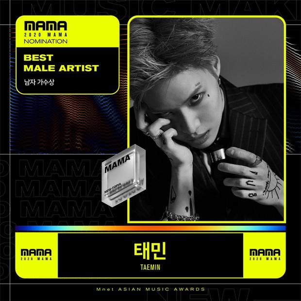 MAMA 2020 công bố đề cử: BTS và BLACKPINK nổi bật trong các hạng mục, hứa hẹn những cuộc chiến vote căng đét - Ảnh 11.