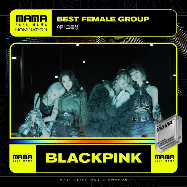 MAMA 2020 công bố đề cử: BTS và BLACKPINK nổi bật trong các hạng mục, hứa hẹn những cuộc chiến vote căng đét - Ảnh 22.