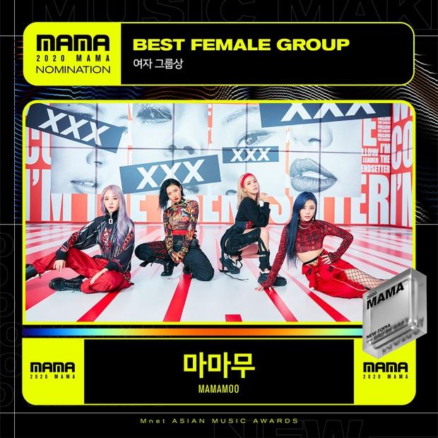 MAMA 2020 công bố đề cử: BTS và BLACKPINK nổi bật trong các hạng mục, hứa hẹn những cuộc chiến vote căng đét - Ảnh 25.