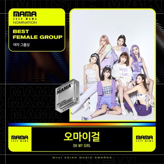MAMA 2020 công bố đề cử: BTS và BLACKPINK nổi bật trong các hạng mục, hứa hẹn những cuộc chiến vote căng đét - Ảnh 27.