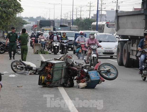 Tai nạn liên hoàn trên quốc lộ 13 làm 1 người tử vong tại chỗ - Ảnh 1.