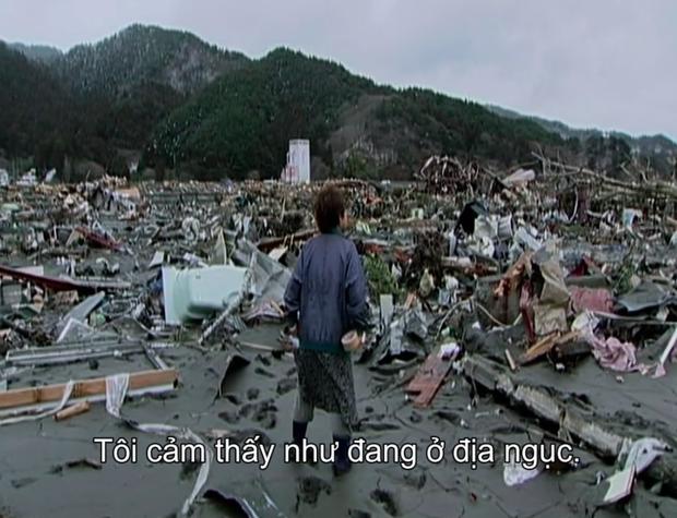 Cơn ám ảnh thảm họa sóng thần 2011 của người Nhật được làm thành phim vừa rợn gáy - vừa đau thắt lòng - Ảnh 16.