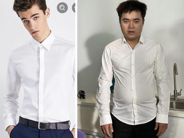 Thanh niên có cấu hình mặt tấu hài khiến các shop online khóc thét vì năng lực biến đồ đẹp thành... thảm hoạ thời trang - Ảnh 5.