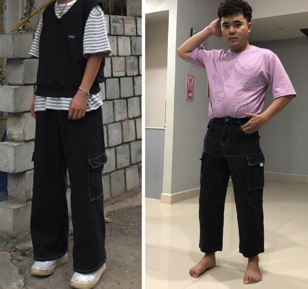 Thanh niên có cấu hình mặt tấu hài khiến các shop online khóc thét vì năng lực biến đồ đẹp thành... thảm hoạ thời trang - Ảnh 2.