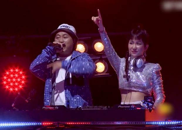 Từng gây bão khi cùng đội Sơn Tùng M-TP tại The Remix, DJ Trang Moon thay đổi thế nào tại King Of Rap? - Ảnh 5.