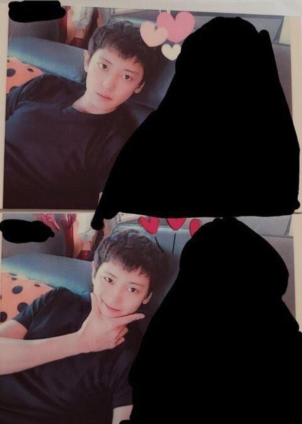 Fan giận tím mặt nghi Chanyeol (EXO) đem ảnh bạn gái chụp đi làm... photocard album, chi tiết chứng minh phốt là thật? - Ảnh 2.