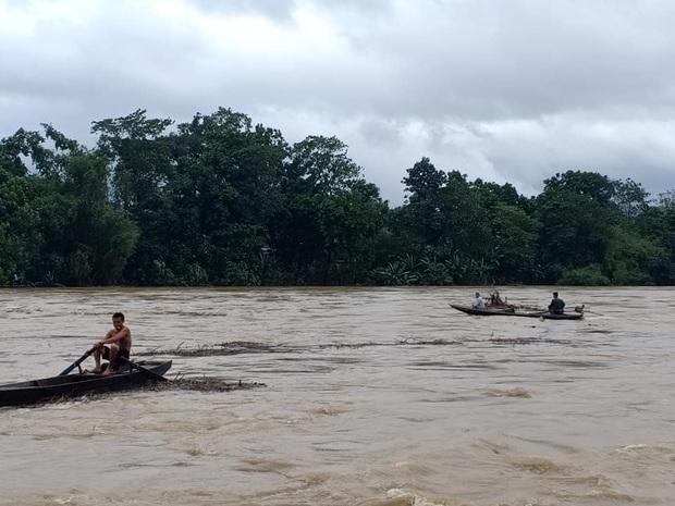 Người dân Hà Tĩnh liều mình vớt củi bất chấp nước sông dâng cao - Ảnh 3.