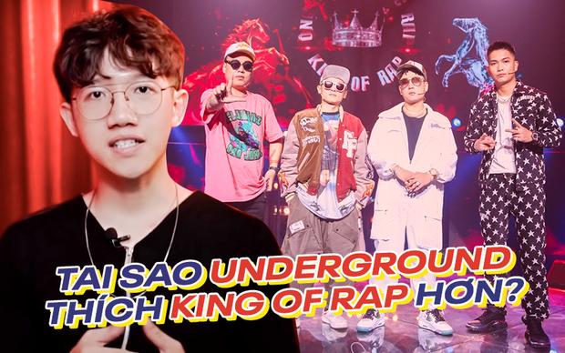 Rap Việt thắng thế về truyền thông nhưng giới Underground lại đánh giá cao King Of Rap hơn? - Ảnh 3.