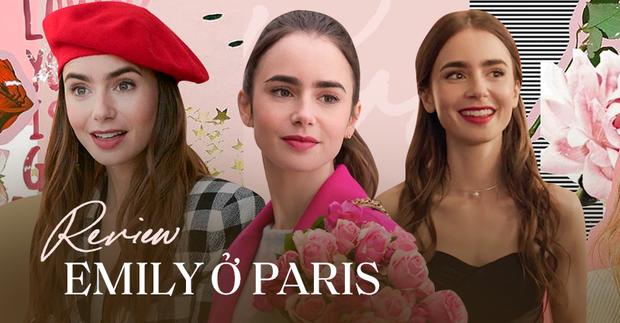 Emily Ở Paris: Cốt truyện âm hưởng Sex and The City khó cảm, may thay có Lily Collins visual hút mắt điên đảo cân lại - Ảnh 2.