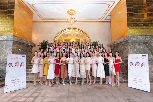 Top 60 Hoa hậu Việt Nam 2020 lần đầu hội ngộ đông đủ, đọ sắc cực gắt cùng khung hình: Nhìn là hiểu đấu trường visual năm nay đáng gờm thế nào! - Ảnh 2.