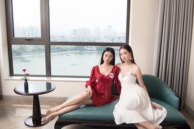 Top 60 Hoa hậu Việt Nam 2020 lần đầu hội ngộ đông đủ, đọ sắc cực gắt cùng khung hình: Nhìn là hiểu đấu trường visual năm nay đáng gờm thế nào! - Ảnh 7.