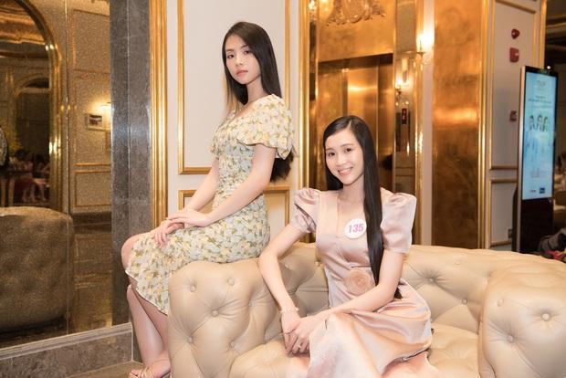 Top 60 Hoa hậu Việt Nam 2020 lần đầu hội ngộ đông đủ, đọ sắc cực gắt cùng khung hình: Nhìn là hiểu đấu trường visual năm nay đáng gờm thế nào! - Ảnh 6.