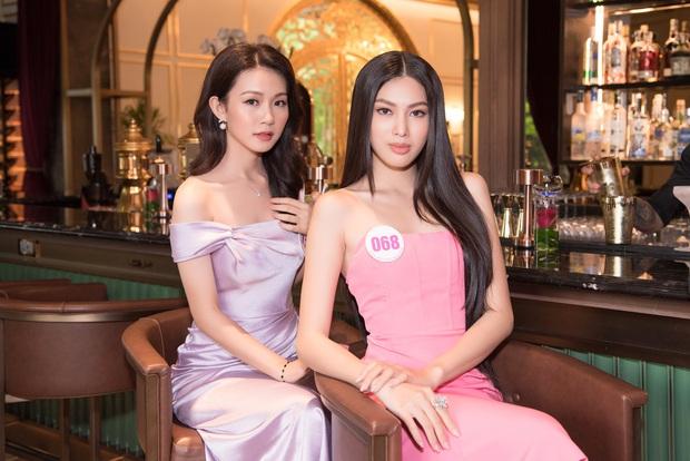 Top 60 Hoa hậu Việt Nam 2020 lần đầu hội ngộ đông đủ, đọ sắc cực gắt cùng khung hình: Nhìn là hiểu đấu trường visual năm nay đáng gờm thế nào! - Ảnh 8.