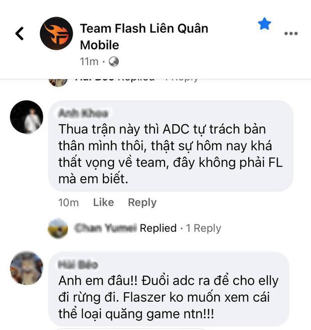 ADC tự hủy khiến Team Flash bị lật kèo cay đắng, fan lẫn anti-fan chỉ trích dữ dội - Ảnh 3.