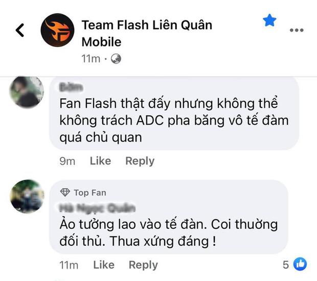 ADC tự hủy khiến Team Flash bị lật kèo cay đắng, fan lẫn anti-fan chỉ trích dữ dội - Ảnh 4.