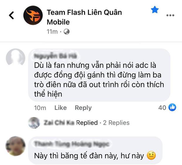 ADC tự hủy khiến Team Flash bị lật kèo cay đắng, fan lẫn anti-fan chỉ trích dữ dội - Ảnh 7.