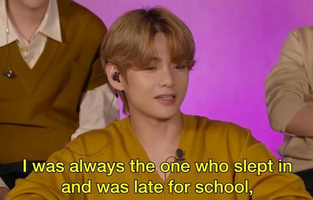 BTS tiết lộ hình tượng thời cấp 3: từ mọt sách đến sâu ngủ đều có đủ! - Ảnh 3.