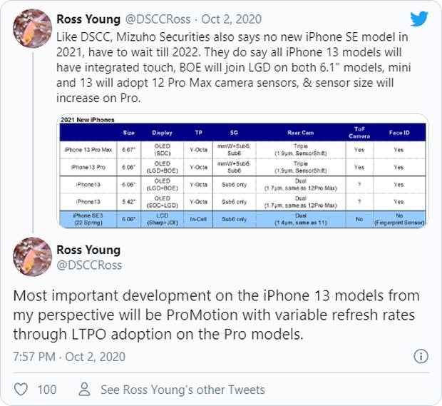 Phải đến iPhone 13 mới có màn hình 120Hz? - Ảnh 3.