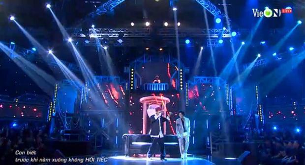 Thành Draw và RPT Gonzo mở đầu đêm nhạc retro team Binz với ca khúc kinh điển của cố nhạc sĩ Trịnh Công Sơn - Ảnh 5.