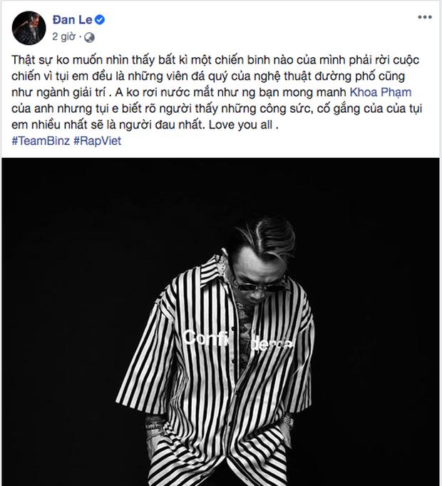 Trước giờ G vòng Đối đầu của team Binz, Karik đăng ảnh selfie khẳng định: Lịch sử Rap Việt sẽ xảy ra vào tối nay! - Ảnh 3.