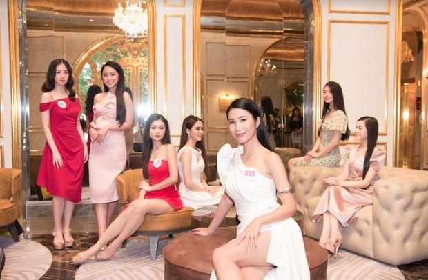 Top 60 Hoa hậu Việt Nam 2020 lần đầu hội ngộ đông đủ, đọ sắc cực gắt cùng khung hình: Nhìn là hiểu đấu trường visual năm nay đáng gờm thế nào! - Ảnh 5.