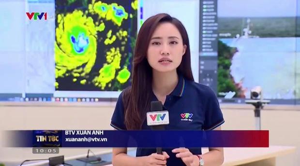 BTV thời tiết của VTV chia sẻ áp lực 30 lần lên sóng trong 2 ngày bão vào, kêu gọi mọi người đừng chủ quan - Ảnh 1.