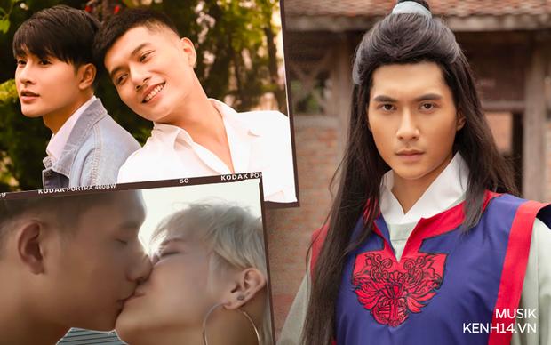 Tình trẻ tin đồn kém 12 tuổi của Lệ Quyên: Từng là thị vệ thương nhớ Chi Pu, được Tóc Tiên ngả vào lòng và sẵn sàng vào vai đồng tính - Ảnh 4.