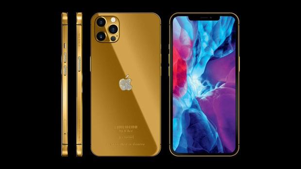 Ngắm ảnh thực tế iPhone 12 Pro mạ vàng đầu tiên trên thế giới được chế tác tại Việt Nam - Ảnh 5.