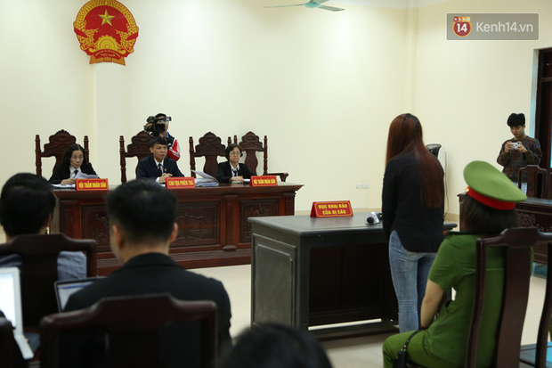 Mẹ mìn bắt cóc bé trai 2 tuổi ở Bắc Ninh bật khóc khi bị tuyên án 5 năm tù - Ảnh 12.