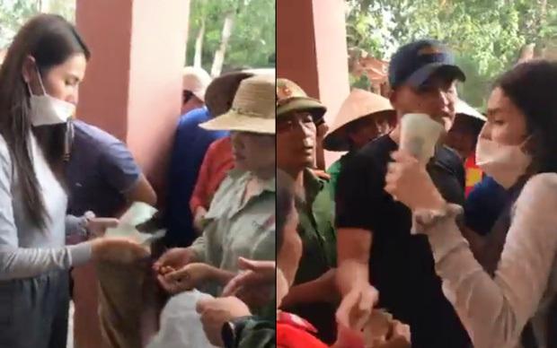 Thực hư việc Thuỷ Tiên trao tiền từ thiện ở Quảng Bình, cán bộ đến từng nhà thu lại - Ảnh 4.