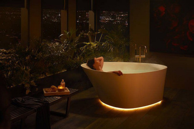 Dạo quanh phòng tắm công nghệ cao đặc biệt, nơi có thể điều khiển mọi thứ từ toilet đến gương bằng giọng nói với giá bán gần 400 triệu - Ảnh 8.