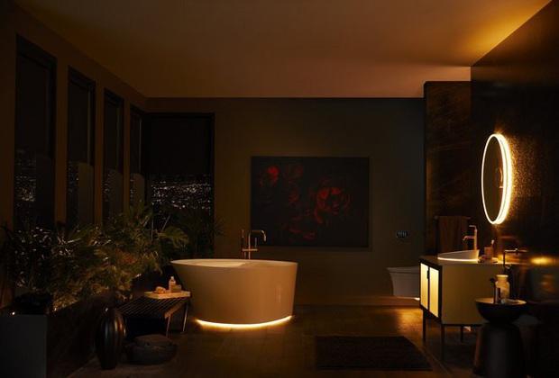 Dạo quanh phòng tắm công nghệ cao đặc biệt, nơi có thể điều khiển mọi thứ từ toilet đến gương bằng giọng nói với giá bán gần 400 triệu - Ảnh 10.