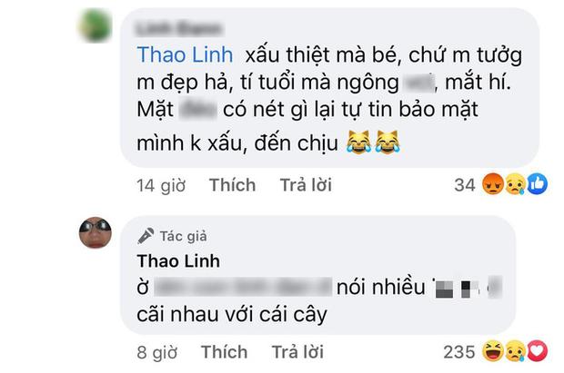 Tlinh (Rap Việt) bức xúc, đáp trả cực gay gắt khi bất ngờ bị anti fan chê bai về nhan sắc - Ảnh 2.