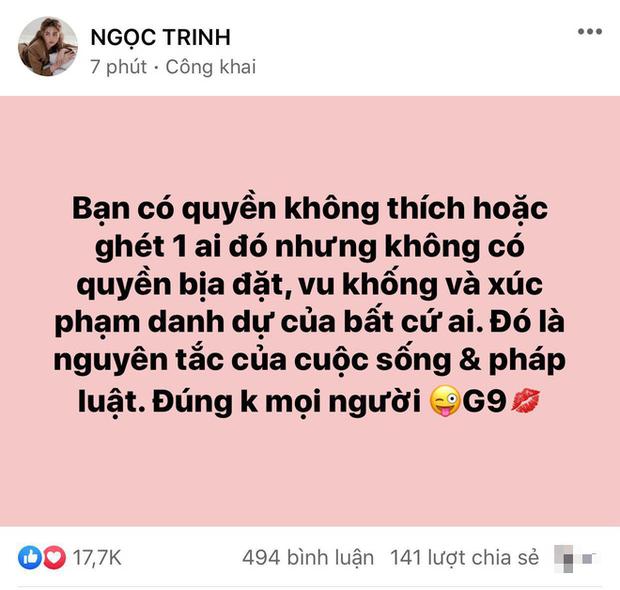 Giữa drama Hương Giang và antifan đối đầu, bạn thân Ngọc Trinh bất ngờ nêu quan điểm gây chú ý - Ảnh 2.
