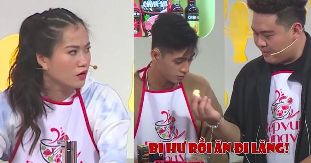 Tạm rời Rap Việt, Yuno Bigboi và Lăng LD khiến dàn sao Việt hoảng hốt trên show nấu ăn - Ảnh 4.