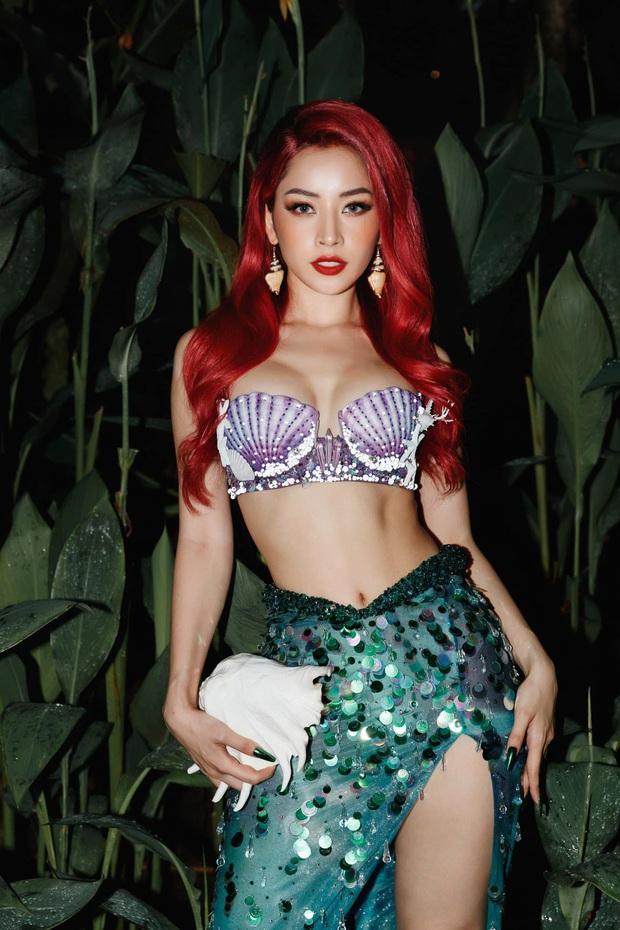 Chi Pu hoá thân thành nàng tiên cá chơi Halloween, netizen lập tức cà khịa chắc đổi giọng hát để lấy đôi chân lên bờ? - Ảnh 2.