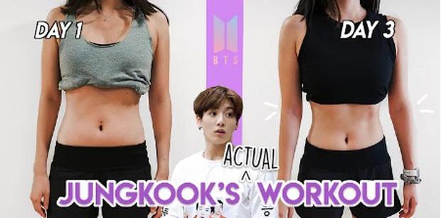 Thử chế độ siết cân của Jungkook (BTS), cô nàng Army có ngay eo thon chỉ sau vỏn vẹn 3 ngày - Ảnh 3.