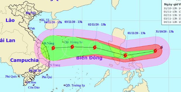 Siêu bão Goni mạnh cấp 17 đang tiến nhanh vào Biển Đông, tâm lại hướng đến vùng biển miền Trung - Ảnh 2.