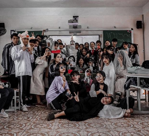 Những màn hóa trang siêu dị của học sinh ngày Halloween, thầy cô cũng lầy lội chẳng kém - Ảnh 5.