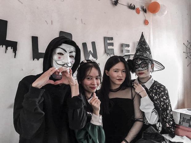 Những màn hóa trang siêu dị của học sinh ngày Halloween, thầy cô cũng lầy lội chẳng kém - Ảnh 4.