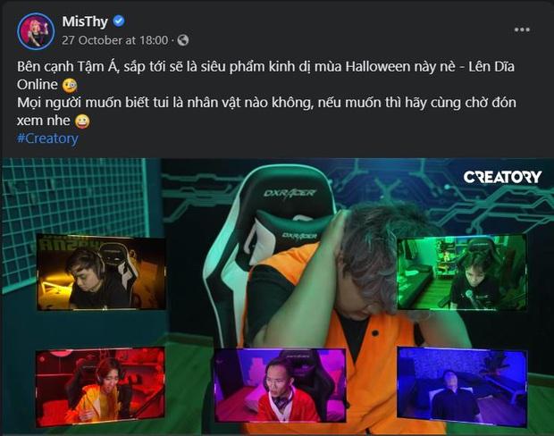 Khi màn đêm buông xuống, MisThy rủ hội streamer đình đám cùng chơi ma sói mừng Halloween - Ảnh 4.