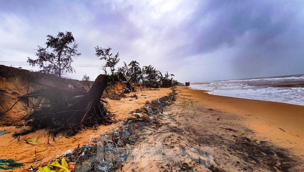 Bão tan lũ rút, bờ biển Thừa Thiên Huế tan hoang chưa từng thấy - Ảnh 32.