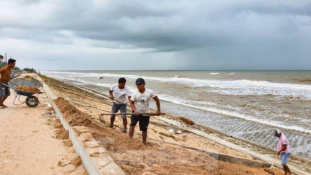 Bão tan lũ rút, bờ biển Thừa Thiên Huế tan hoang chưa từng thấy - Ảnh 7.
